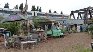 Nomadic Community Gardens; The Raving Cafe