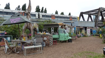 Nomadic Community Gardens; The Raving Cafe