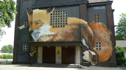 "St. Barbara Kirche; ZUKCLUB ""FOX -The Sleeping Hunter"""
