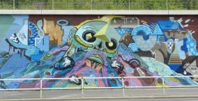"""""""Stadt-Mensch-Raum""""; """"Art meets art"""" Jan Schoch et al., Christoph Kummerow aka Qurt QumI"""