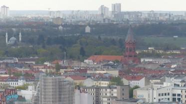 Panoramapunkt Potsdamer Platz; Blick nach Osten; 1UP