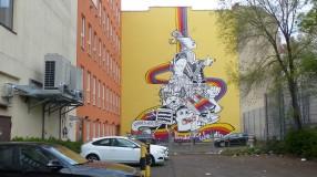Wedding Walls; Utrechter Straße 3; Hannes Höhlig x Paod, 2011