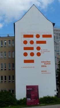 Königswall / Brinkhoffstraße; Emscherkunst 2016