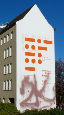 Königswall / Brinkhoffstraße; Emscherkunst 2016; Feuerlöscher