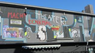 Ehemaliges Olympia Theater; Gigo Propaganda (Mostar/Essen)