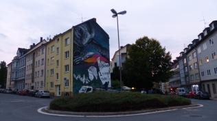 Weltbaustellen NRW; Gabor Doleviczenyi x BASTARDILLA; Dreilindenstraße 70