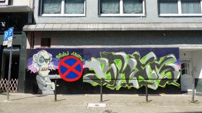 "BRES ""Parken Verboten"" (commissioned work)"