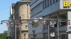 Stadtzeichen Energie; Ecke Pferdemarkt/Viehofer Straße