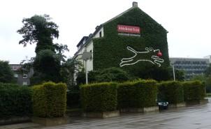 Klöckner Logo am Silberpalais