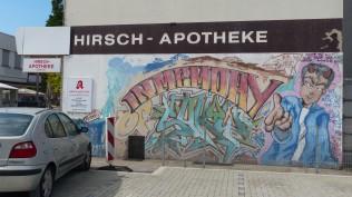 Hirsch Apotheke (Backyard); Bahnhofstraße 25