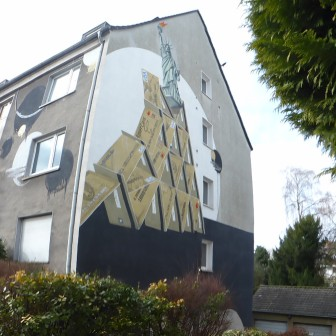 (Kredit-)Kartenhaus Captain Borderline; Richard-Wagner Straße 96