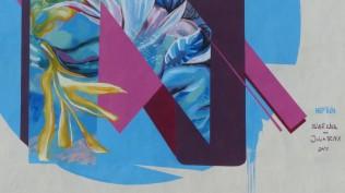 "Julia Benz x Oliver Kahl ""Neptun"" (2017); Am Stadtbad 4"