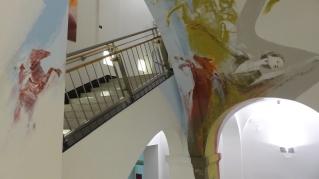 Kunsttreppe Hospital zum heiligen Geist; Guido Zimmermann