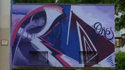 40° Urban Art Festival 2017; DAC Crew COKY; Bonner Straße 88