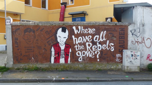 "KBS IFC ""Where have all the Rebels gone?""; Speicherstraße 33"