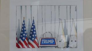 40 Jahre Farbfieber; Kunst kontra Krise; Cartoons Michael Kountouris