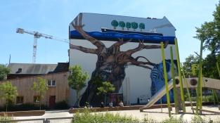 1st Berlin Mural Fest (2018); Weltbaum; Ben  Wagin et al.