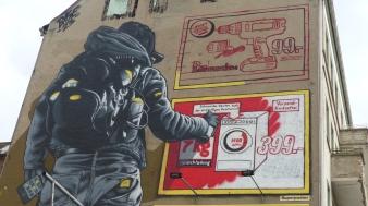 1st Berlin Mural Fest (2018); MTO; Warschauer Straße 58