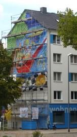 Weltbaustellen NRW; Herne; Daniel Ricardo Pulido Ortiz (NIC); Bebelstraße 26
