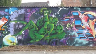 Pottwall Jam; Backyard Bochumer Straße 94-98; EBS