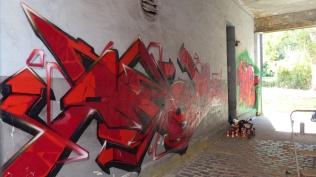 Pottwall Jam; Doorway Bochumer Straße; EBS AMOS ZWEK GENO