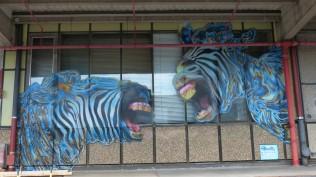 1st Berlin Mural Fest (2018); SNYDER MADNESS DTO XLV TEV GFVS; Mecklenburgische Straße 32