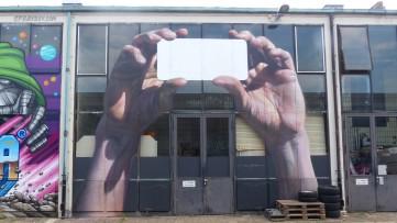 """1st Berlin Mural Fest (2018); Mecklenburgische Straße; INNERFIELDS """"Third Eye"""""""