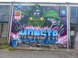 1st Berlin Mural Fest (2018); Mecklenburgische Straße 32; MONSTA