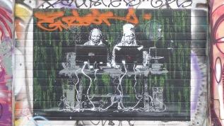 Revaler Straße 99; Stencil; Edward von Lõngus