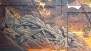 1st Berlin Mural Fest (2018); Mecklenburgische Straße 32; MEDIAN95 NEW CREW SABOR SHEK MARE SPOARE153