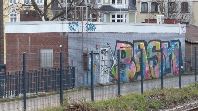 Trasse Rheinische Bahn; Borbeck Bhf; BASH