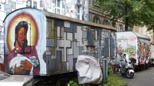 Kiefernstraße; Bauwagen
