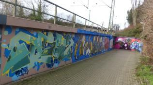 Fußgängertunnel Villenweg; THE TOP NOTCH x DEMON; 100% DELANO ET AL: