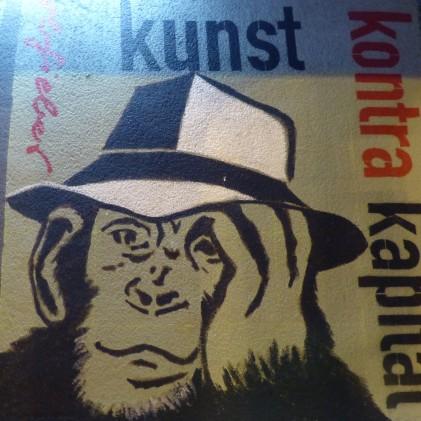 """""""Kunst Kontra Kapital! (Farbfieber 2018); Klaus Klinger"""
