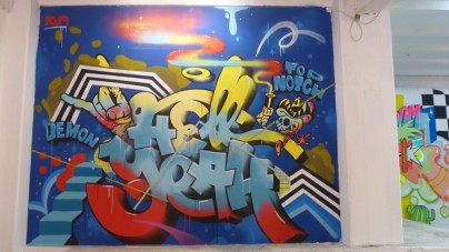 Speicher Pop-Up Show; DEMON x THE TOP NOTCH
